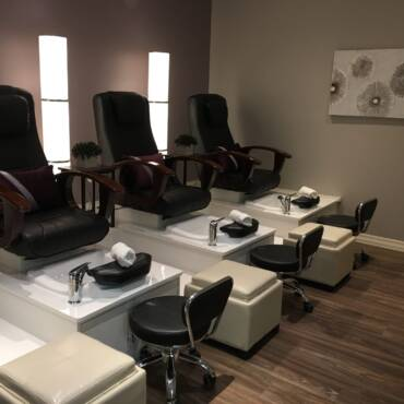 Our pedicure room